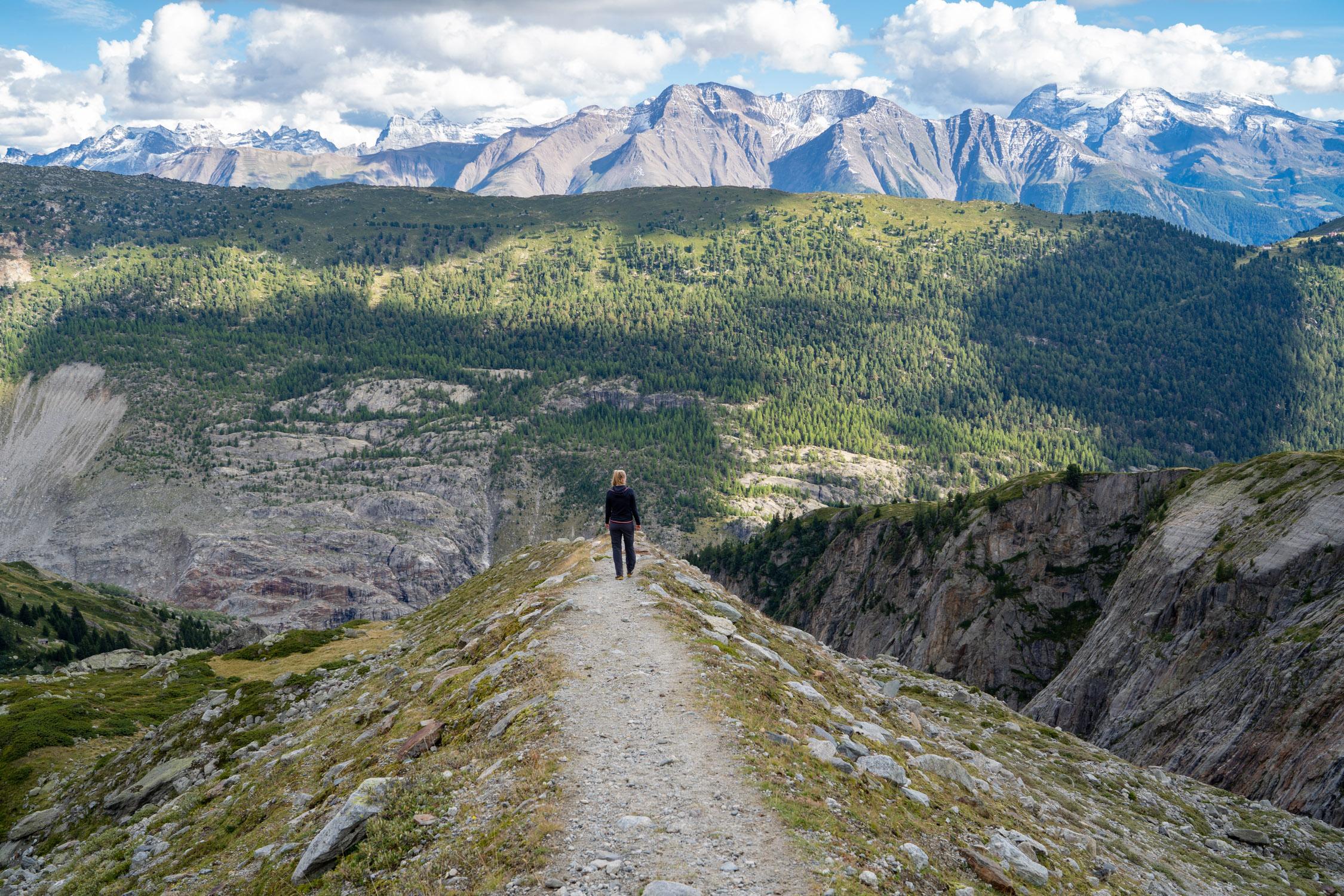 Landschappen in de bergen fotograferen: compositie